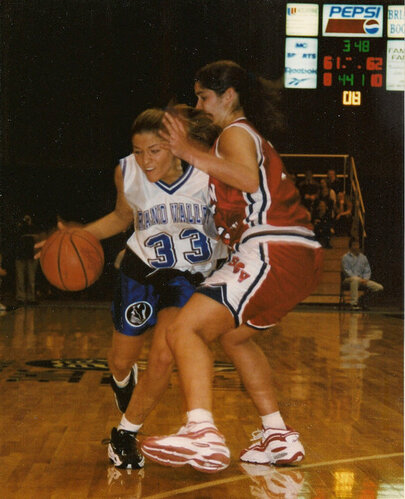 '95 - Grand Valley State University Basketball