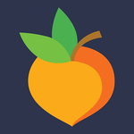 button displaying peach icon with peachjar text